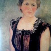 Quadre de la pintora Olga Sacharoff. Museu de Valls, Valls
